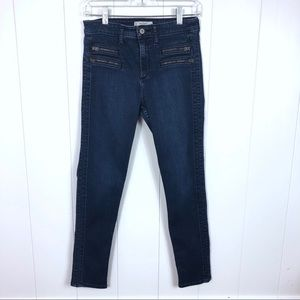 Abercrombie & Fitch High Rise Skinny Jeans Size 6